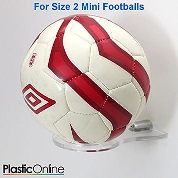Plastic Online Ltd Acrylic Wall Mounted MINI SIZE 40 Football Display Beauteous Football Display Stand Plastic