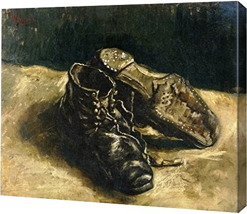 A Pair of Shoes 2 by Vincent Van Gogh - 9