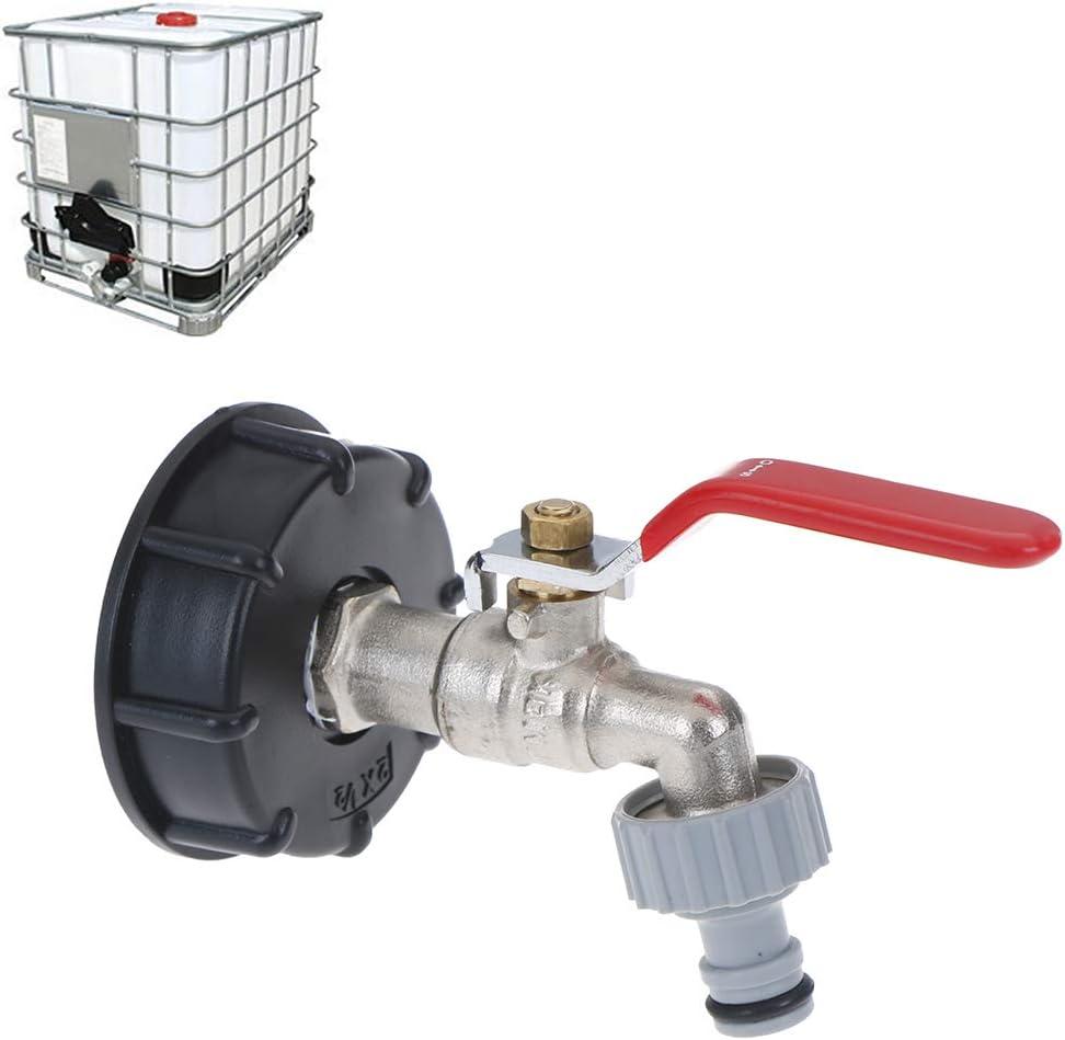HEIY IBC Tank Adapter Tote Tank Food Grade Drain Adapter 1/2