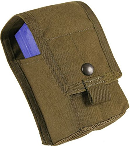 BLACKHAWK! S.T.R.I.K.E. Double M14 Pouch with Divider with Speed Clips, Olive Drab