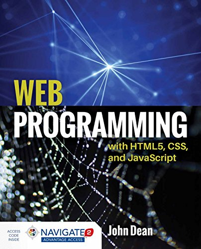 Web Programming with HTML5, CSS, and JavaScript by Jones & Bartlett Learning