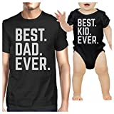 365 Printing Best Dad And Kid Ever Black Funny Fathers Day Gift Idea For New Dad