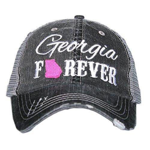 Georgia Forever Women's Trucker Hats Caps by Katydid