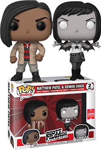 POP! Movies: Scott Pilgrim Vs. The World 2 Pack - Matthew Patel & Demon Chick (2018 Summer Convention Limited Edition) (Scott Pilgrim Vs The World Matthew Patel)