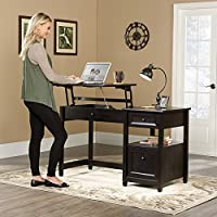 Edge Water Lift-top Desk, Estate Black Finish