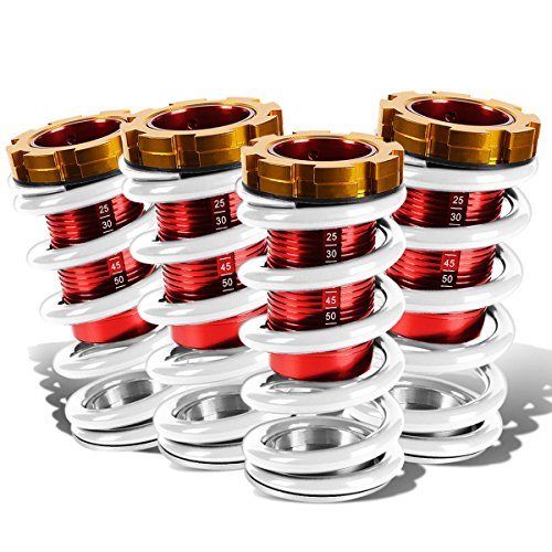 DNA Motoring COIL-HC88-T11-WH Coil Over Sleeve Kits (1994 Honda Civic Coil Overs compare prices)