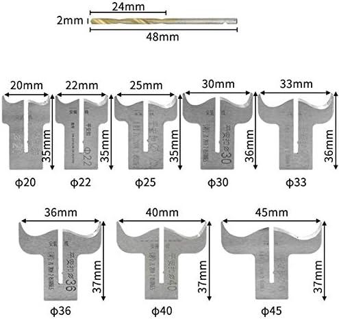 CBLD 20 Pcs Set Wood Bead Maker Beads Drill Bit Milling Cutting Set Woodworking Tool Concrete, Brick Wall