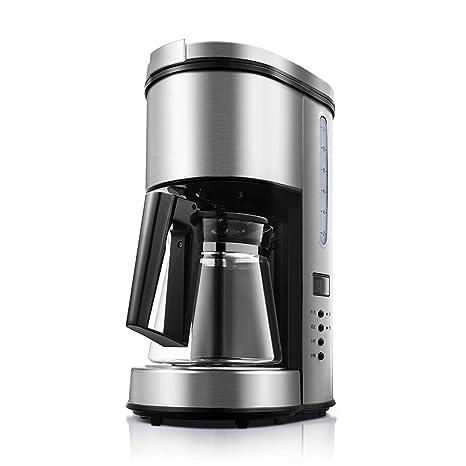 YJSY Máquina de café Tipo de Goteo El Control de un botón de Acero Inoxidable de