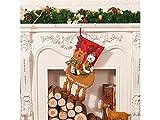 Gelaiken World Christmas Christmas Socks Candy Bag Gift Bag Christmas Tree Pendant(Snowman)