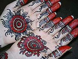 14 Hojas Henna Tatuajes Temporales Plantillas, Mehndi Templo ...