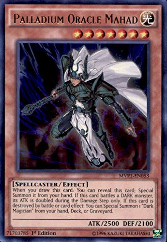 Yu-Gi-Oh! - Palladium Oracle Mahad (MVP1-EN053) - The Dark Side of Dimensions Movie Pack - 1st Edition - Ultra Rare Konami