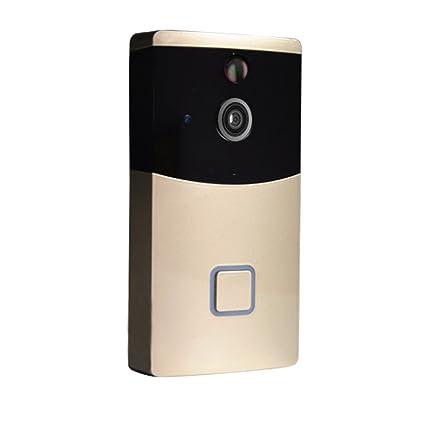 Timbre inalámbrico para cámara de vídeo, timbre de puerta inteligente con doble conversación Securite Visual