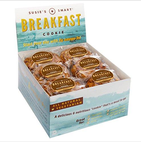 Susie's Smart Breakfast Cookie Orange, Cranberry, Nut Breakfast Cookie, 3.5 Ounce (Pack of 18) by Susie's Smart Breakfast Cookie (Image #2)