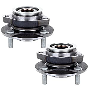 Amazon.com: ECCPP Pair of 2 Front Wheel Hub Bearing ...