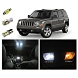 Jeep Patriot LED Package Kit - Interior + Tag + Reverse (8 pieces)