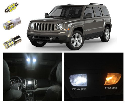 Amazoncom Jeep Patriot LED Package Kit Interior Tag Reverse