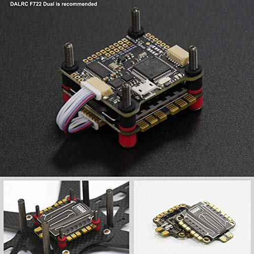 Wikiwand DALRC Rocket 50A 4 in 1 ESC Brushless 3-6S Blheli_32 LIHV DSHOT1200 for Drone