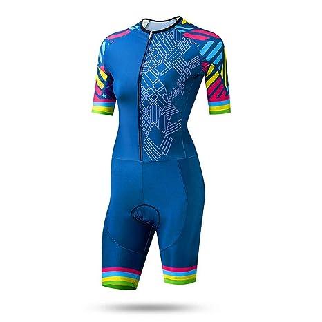 Traje de jersey de ciclismo para mujer Traje de equitación ...