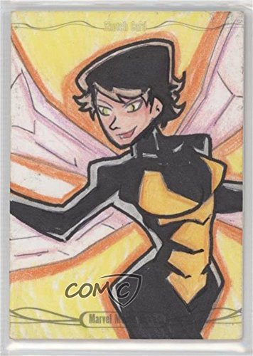 Roberto Cota Briceno #1/1 (Trading Card) 2016 Upper Deck Marvel Masterpieces - Legacy Sketch Cards #Z5TWD by Upper...