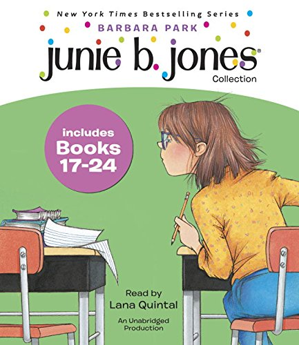 Junie B. Jones Audio Collection, Books 17-24 (Halloween Theme Park Usa)