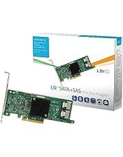LSI SAS 9207-8i SATA / SAS-controller (6 GB, 8 interne poorten, met PCI-E interface, UK import)