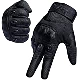 FREETOO Tactical Gloves Military Rubber Hard Knuckle Outdoor Gloves