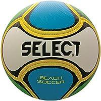 Select Beach Soccer Ball, Size 5, White/Blue/Green