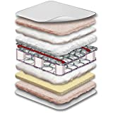 """Sealy Flex Cool 2-Stage Airy Dual Firmness Infant/Toddler Crib Mattress, 52"""" x 28"""""""