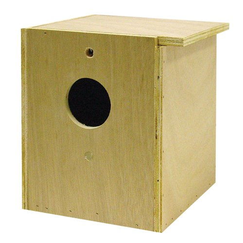 North American Pet BBO22613 Bob Inside/Out Tiel Nesting Box for Pets