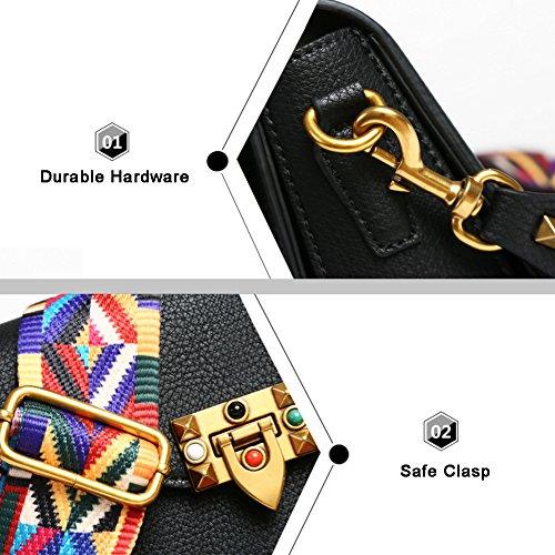 Sacchetto di cinghia di modo di Yoome Sacchetto di spalla del modello di Lichee per le femmine della frizione della borsa delle ragazze