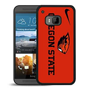 Unique And Lovely Custom Designed Case For HTC ONE M9 With Oregon State Beavers 06 Black Phone Case