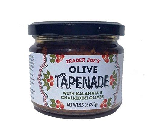 Trader Joe's Olive Tapenade With Kalamata & Chalkidiki Olives, 9.5 Oz (Single) by Trader Joe's