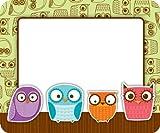 Carson Dellosa Owls Name Tags (150005)