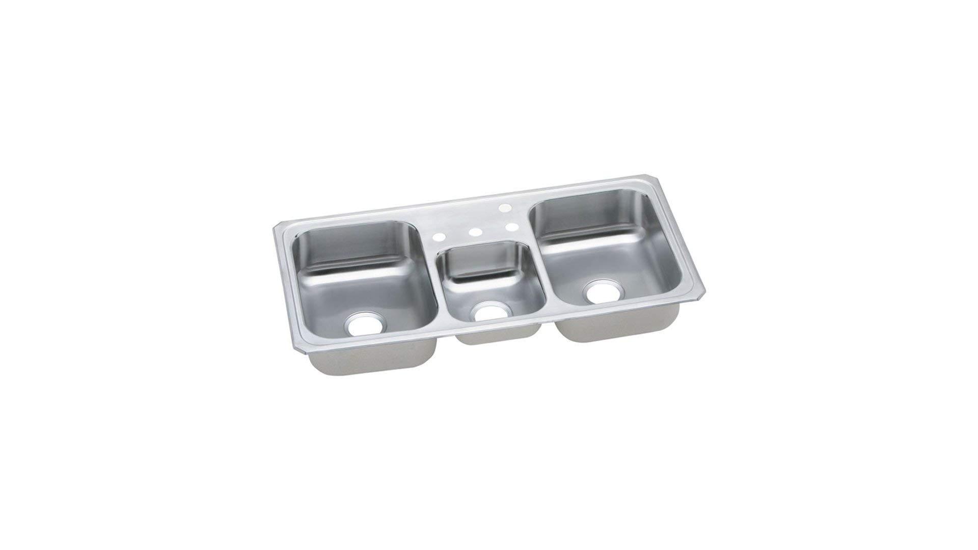 Elkay CMR43224 Sink 43-Inch by 22-Inch Stainless Steel (Renewed)