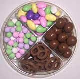 Scott's Cakes 4-Pack Chocolate Dutch Mints, Chocolate Jordan Almonds, Chocolate Pretzels, & Chocolate Malt Balls