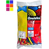 Qualatex Balloons: Neon Modelling Balloons (100 pack) 260Q by Qualatex