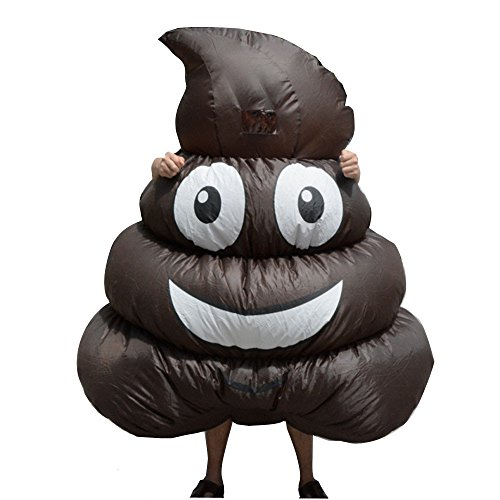 Toddler Centaur Costume (Inflatable Giant Poop Emoji Costume for Adult Kids Halloween Party Game)