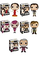 The Hunger Games Katniss Girl on Fire, Katniss Everdeen, Effie Trinket, Peeta Mellark, President Snow Pop! Vinyl Figure Set of 5
