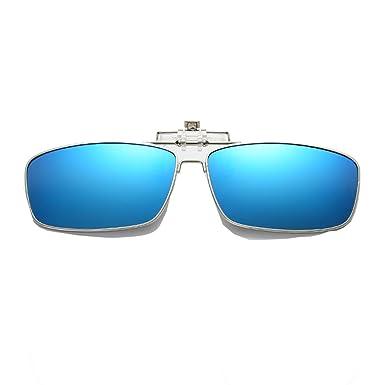 Embryform Gafas de sol polarizadas con clip Unisex-Elegantes ...