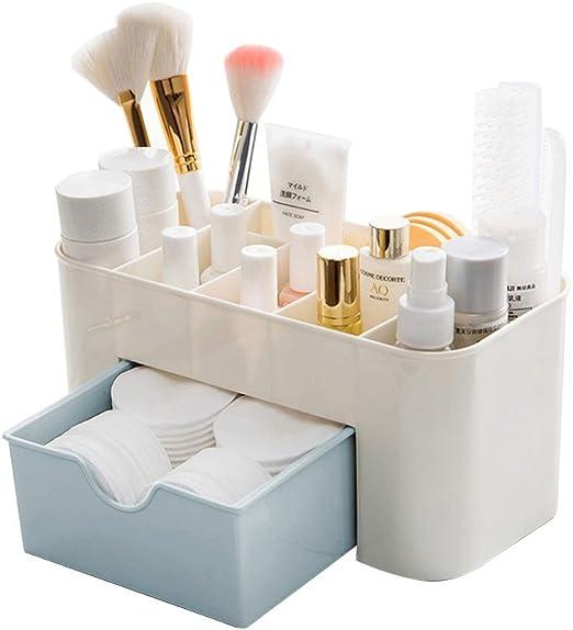 Baffect Caja de almacenaje de Escritorio de cosméticos con cajones ...
