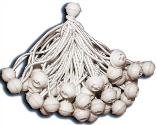 KMH®, 50 x Bola Pulpos Lona Bungie Cord para Marquesinas, cenadores, Carpas para Fiestas
