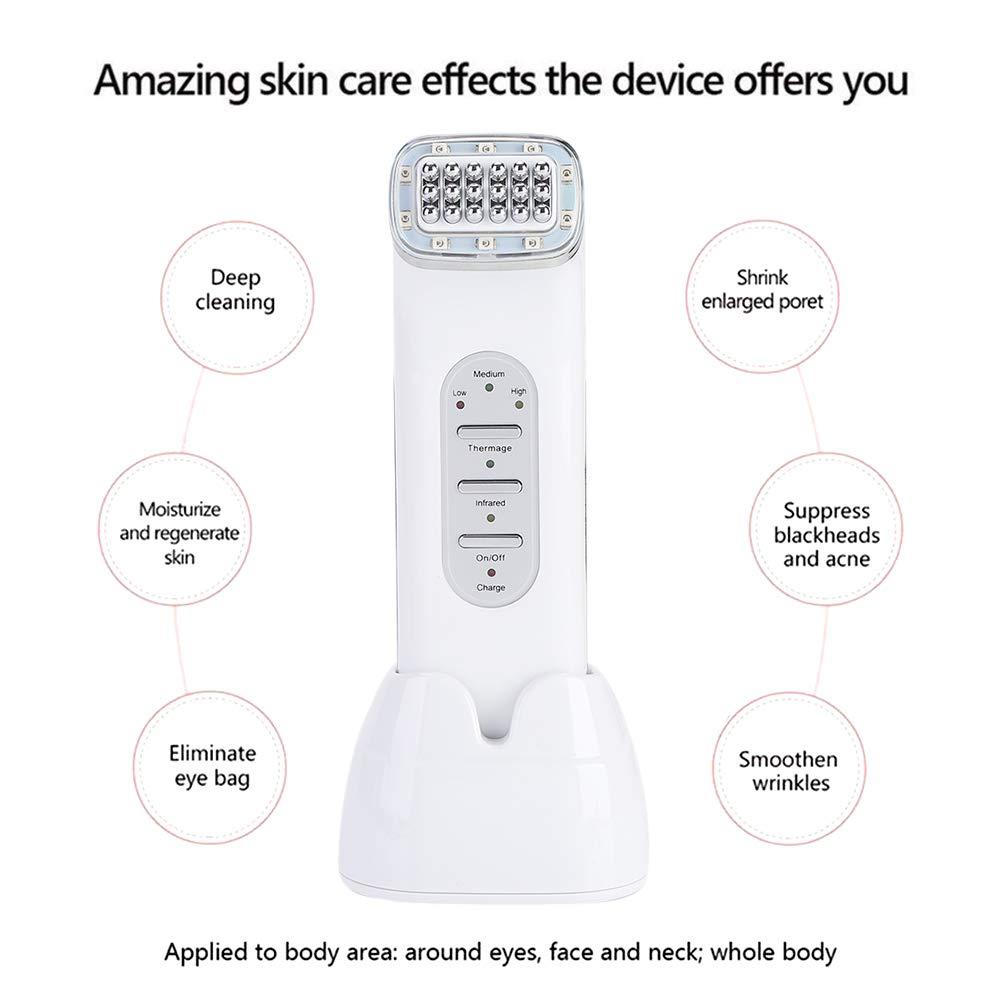 Radiofrecuencia facial Matriz de punto del RF cara que aprieta la máquina de la belleza de la piel del rejuvenecimiento eliminar las arrugas de la piel ...