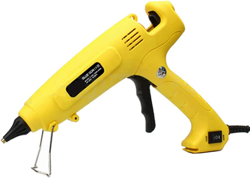 300W Hot Melt pegamento pistola enchufe de la UE inteligente de control de temperatura de cobre tobera del calentador de calefacción 110V 220V 11 mm barra de pegamento de calidad superior