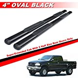 2001 f150 crew cab running boards - Mifeier Black Side Step Rail Nerf Bar Running Boards For 99-03 Ford F150 Super/Extended Cab With 2 Half Size Rear Doors 4