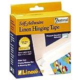 Lineco Acrylic Self-Adhesive Linen Tape 1.25-Inch x 35-Feet (ANL5331015)