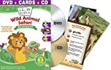 Baby Einstein: Wild Animal Safari Discovery Kit (One-Disc DVD + CD and Discovery Cards) Image