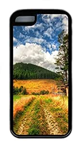 for iphone 4/4s Case Beautiful Natures TPU Custom for iphone 4/4s Case Cover Black