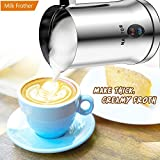 Milk Frother Electric Professional Hot and Cold Dense Foam Coffee One Touch Automatic