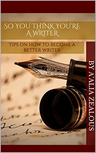 So you think your a writer?
