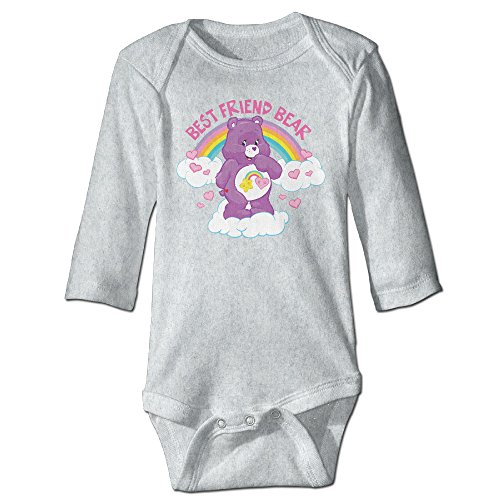 Raymond CARE BEARS Long Sleeve Romper Bodysuit Outfits Ash 18 Months -